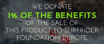A percentage of the profits from the sale of this product will be donated to the ONGI Surfrider Foundation Europe.