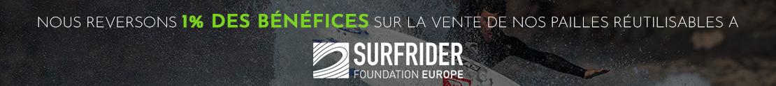 Pailles & Co soutient la mission sociale Surfrider Foundation Europe